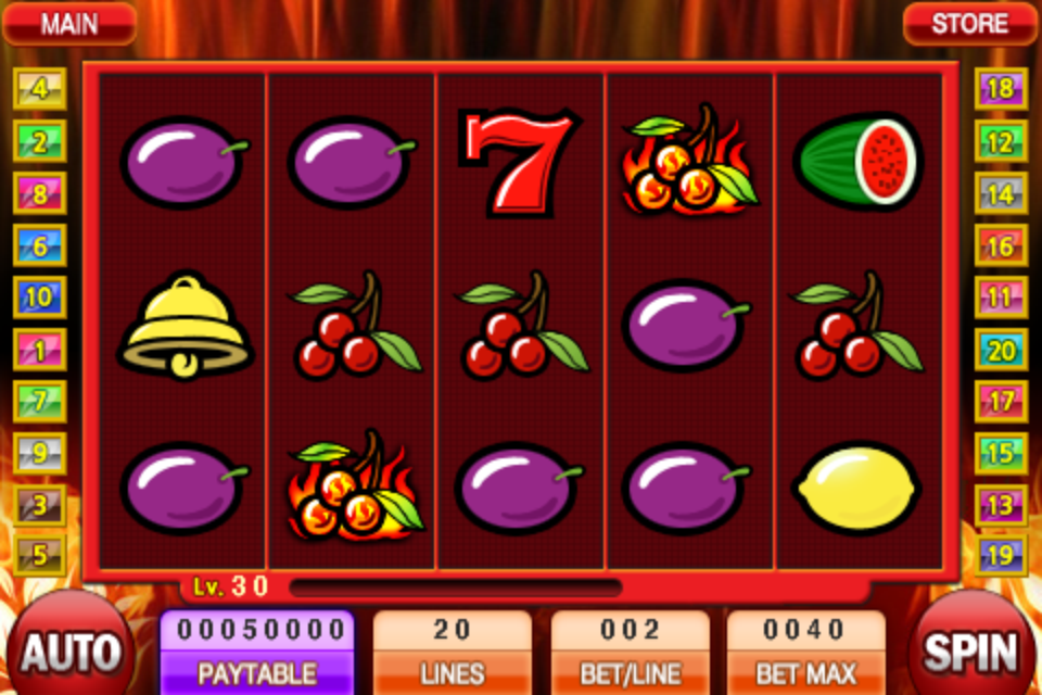 Image of Slot Machine for iPhone