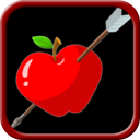 shoot the apple bow and arrow archery game mobile app icon